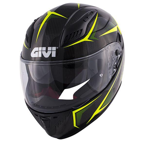 Givi 40.5 X-Carbon Neon Yellow
