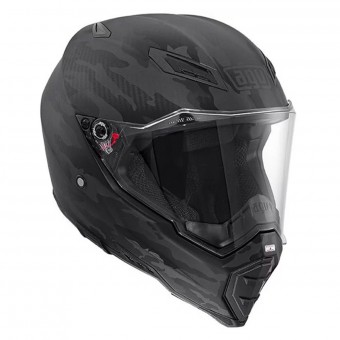 Casque Full Face AGV AX-8 Naked Carbon Fury