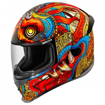 Casque Full Face ICON Airframe Pro Barong Red