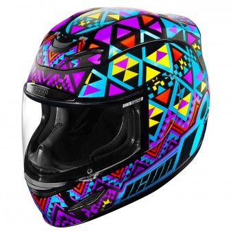 Casque Full Face ICON Airmada Georacer Blue