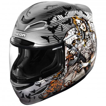 Casque Full Face ICON Airmada Nikova 2 Silver
