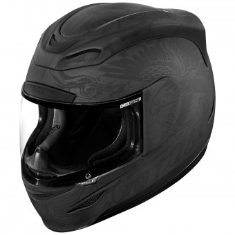 Casque Full Face ICON Airmada Scrawl Matt Black