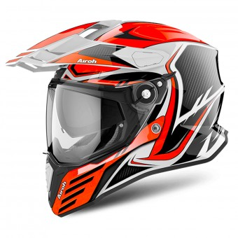 Casque Full Face Airoh Commander Carbon Orange