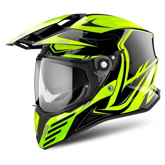 Casque Full Face Airoh Commander Carbon Yellow