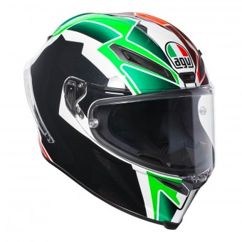 Casque Full Face AGV Corsa R Balda 2016 Black Italy