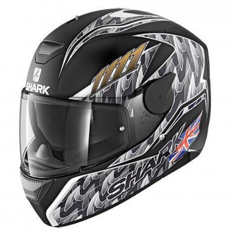 Casque Full Face Shark D-Skwal Replica Fogarty Mat KAS