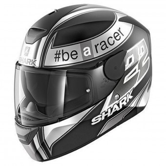 Casque Full Face Shark D-Skwal Replica Sam Lowes Mat KAW
