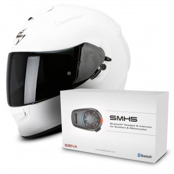 Casque Full Face Scorpion Exo 510 Air White