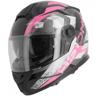 Casque Full Face Astone GT800 Evo Track Pink