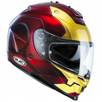 Casque Full Face HJC IS17 Iron Man MC1