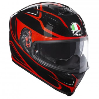 Casque Full Face AGV K-5 S Magnitude Black Red