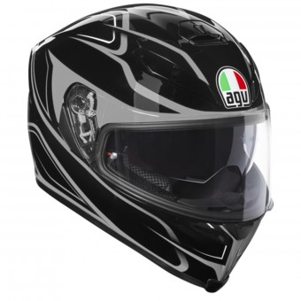 Casque Full Face AGV K-5 S Magnitude Black Silver