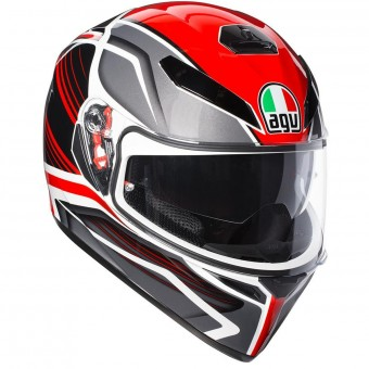 Casque Full Face AGV K3 SV Proton Black Red
