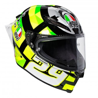 Casque Full Face AGV Pista GP R Replica Iannone 2017 Carbon