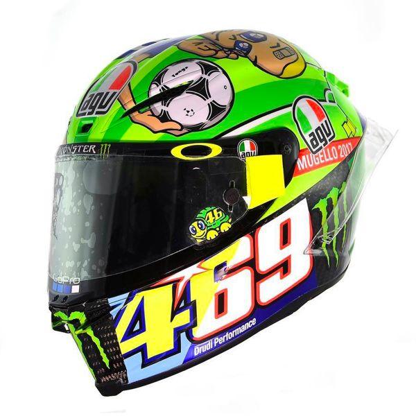 Helmet Agv Pista Gp R Rossi Mugello 2017 In Stock Icasquecouk