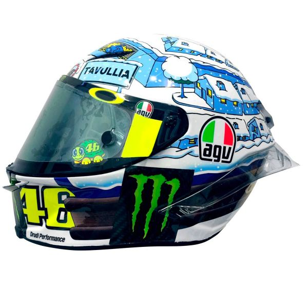 Helmet Agv Pista Gp R Rossi Winter Test 2017 Limited Edition In