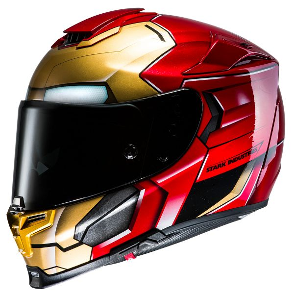 helmet hjc rpha 70 iron man ready to ship. Black Bedroom Furniture Sets. Home Design Ideas