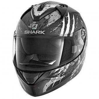 Casque Full Face Shark Ridill Threezy Mat KWA