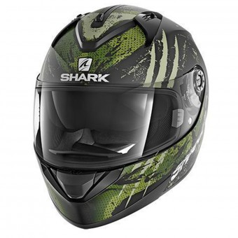 Casque Full Face Shark Ridill Threezy Mat KWG