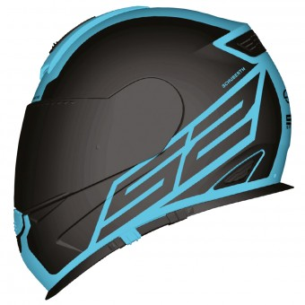 Casque Full Face Schuberth S2 Sport Traction Blue