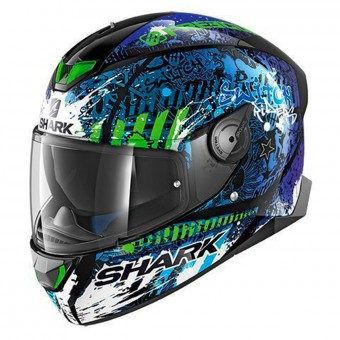 Casque Full Face Shark Skwal 2 Replica Switch Riders 2 KBG