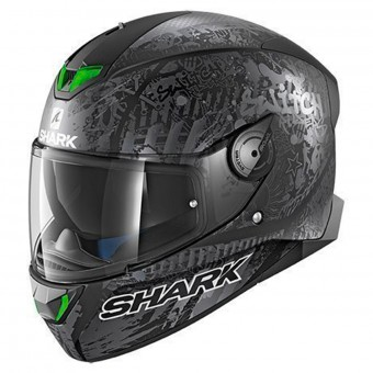 Casque Full Face Shark Skwal 2 Replica Switch Riders 2 Mat KAS