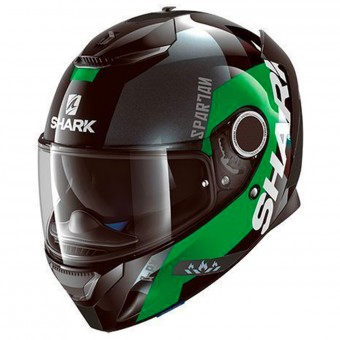 Casque Full Face Shark Spartan Apics KGS