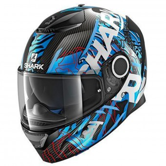 Casque Full Face Shark Spartan Carbon Daksha DBW
