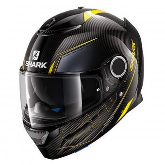 Casque Full Face Shark Spartan Carbon Silicium DYA
