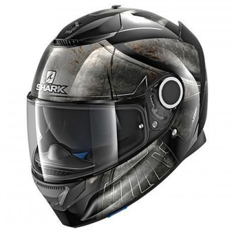 Casque Full Face Shark Spartan Hoplite KUK