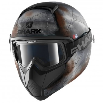 Casque Full Face Shark Vancore Flare Mat KAO