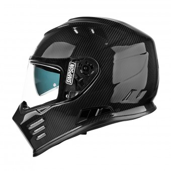 Casque Full Face Simpson Venom Carbon