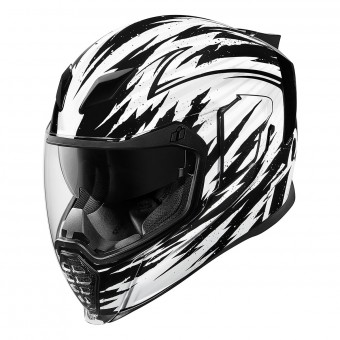 Casque Full Face ICON Airflite Fayder Black White