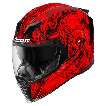 Casque Full Face ICON Airflite Krom Red
