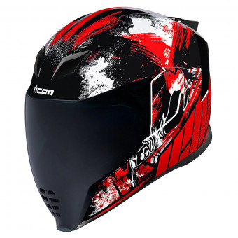 Casque Full Face ICON Airflite Stem Red
