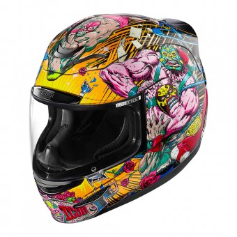 Casque Full Face ICON Airmada Rudos Black