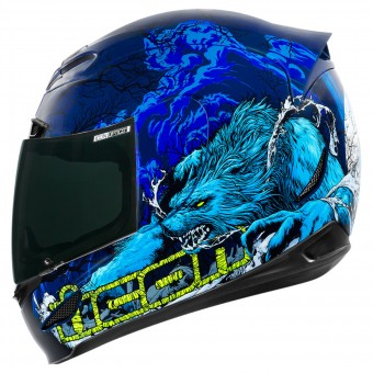 Casque Full Face ICON Airmada Thriller Blue