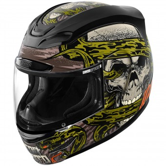 Casque Full Face ICON Airmada Vitriol Black