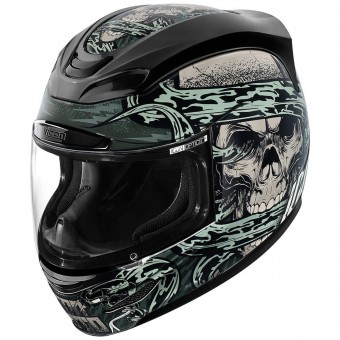 Casque Full Face ICON Airmada Vitriol Grey