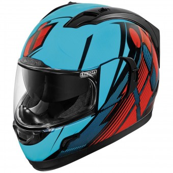 Casque Full Face ICON Alliance GT Primary Blue Red
