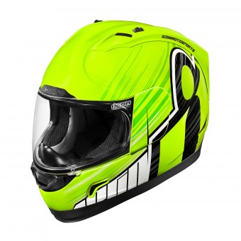 Casque Full Face ICON Alliance Overlord Hi Viz Yellow