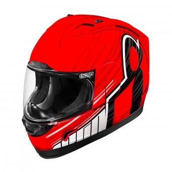 Casque Full Face ICON Alliance Overlord Red