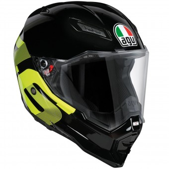 Casque Full Face AGV AX-8 Evo Naked Top Identity