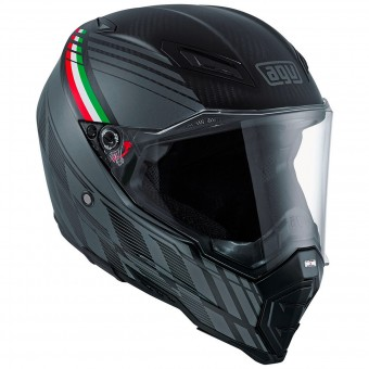 Casque Full Face AGV AX-8 Naked Carbon Black Forest