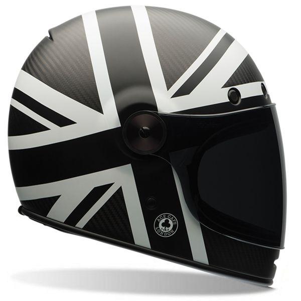 478e4865 Helmet Bell Bullitt Carbon Ace Black Jack in stock | iCasque.co.uk