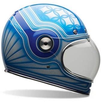 Casque Full Face Bell Bullitt Chemical Candy Blue