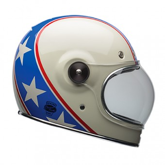 Casque Full Face Bell Bullitt Chemical Candy Blue White