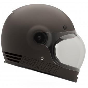 Casque Full Face Bell Bullitt Retro Metallic Titanium