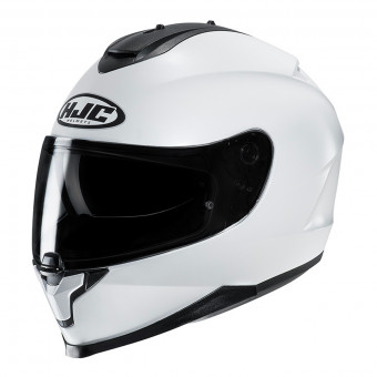 Casque Full Face HJC C70 Pearl White