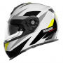 Casque Full Face Schuberth S2 Sport Polar Yellow